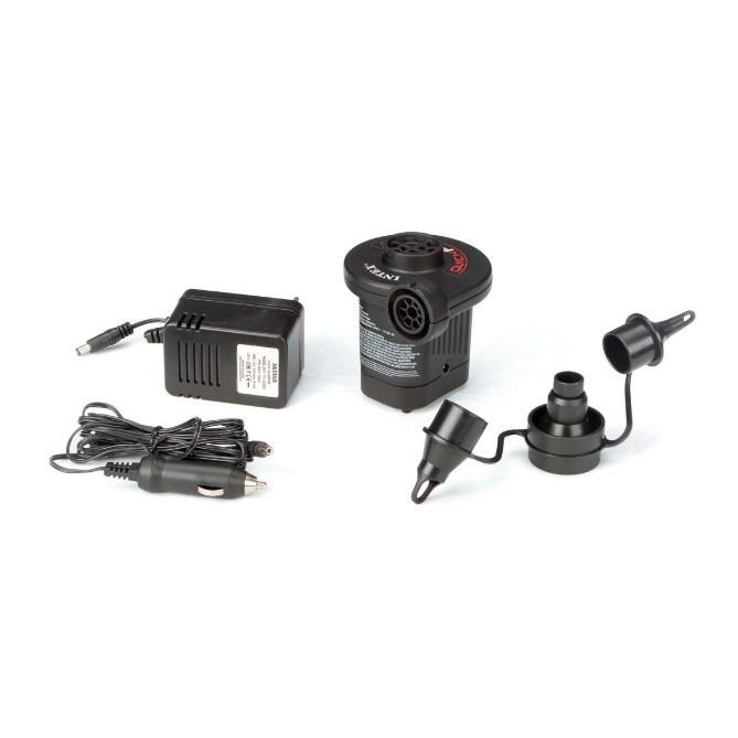 Pompa electrica pentru umflat, 3 accesorii , adaptor 12V si 220V
