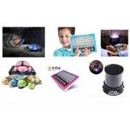 Set Cadou 3in1 Broscuta Proiector de tavan + Tableta educativa multifunctionala + CADOU proiector Lumini STAR MASTER