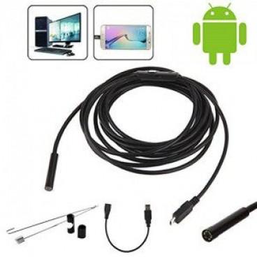 Camera Endoscop rezistenta la apa, vedere 90 grade, Android si PC