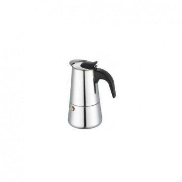 Espressor din inox pentru cafea la aragaz - 2 cesti