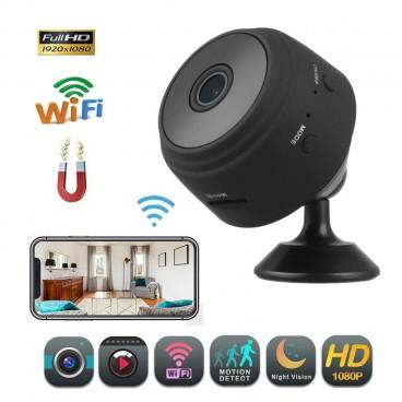 Mini Camera Spion, Wifi , Full HD, Mod Night Vision, Detectare Miscare