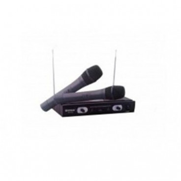 Set 2 microfoane wireless cu receiver