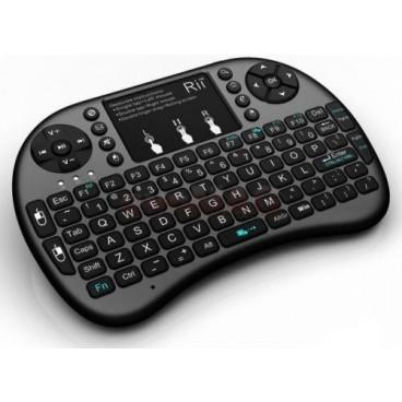 Mini tastatura RII I8+ wireless 2,4 Gh cu touchpad
