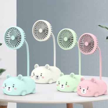 Ventilator de birou, USB, tip animalut, Table Fun