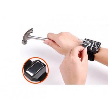 Bratara magnetica tip ceas pentru obiecte metalice