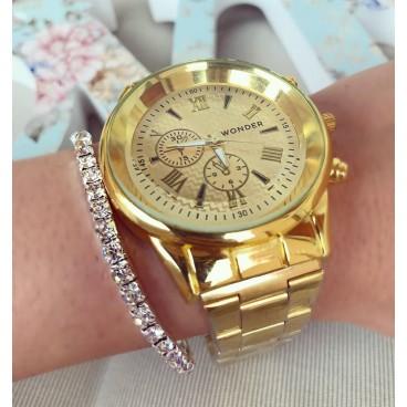 Ceas de dama Gold Fashion Style metalic