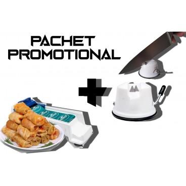 Pachet promotional Aparat de facut sarmale + Ascutitor cutite