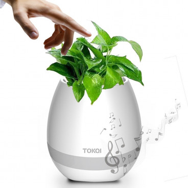 Suport flori Smart Music cu functie bluetooth touch si LED