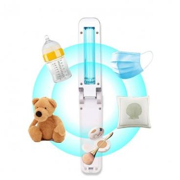 Lampa portabila bactericida UV-C, pliabila