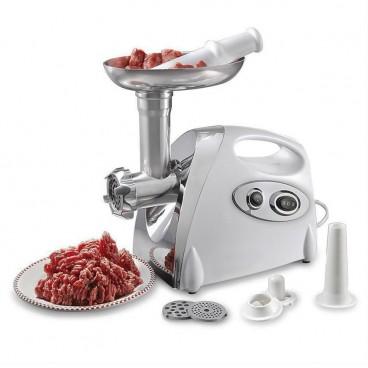 Masina de tocat carne cu accesoriu pentru carnati, cutite din inox . MGB-120,