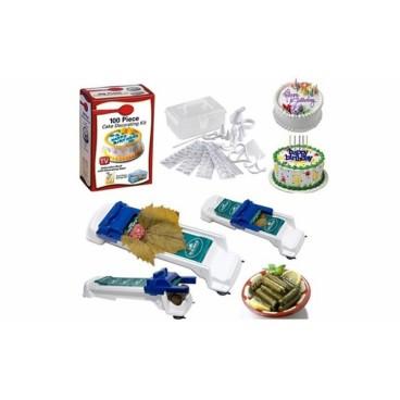 Setul gospodinei - Aparat de facut sarmale + Set 100 piese pentru decorare prajituri