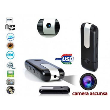 Memory Stick USB Spion Mini U8 cu Functii DVR