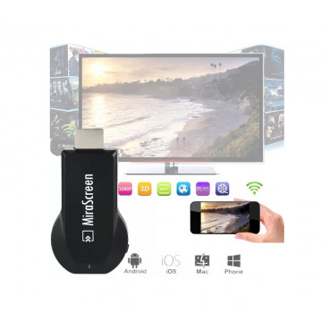 Streaming player MiraScreen 2.4GHz WiFi Display HDMI, AirPlay, Miracast