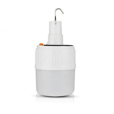Lampa solara cu 3 moduri de iluminare, telecomanda, prindere cu carlig